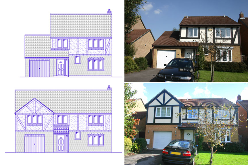 Architectural services architectural services in bristol for Garage plans uk